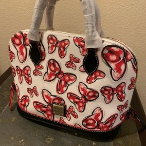 Minnie Bows Dooney&Bourke Satchel